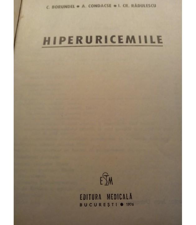 C. Borundel - Hiperuricemiile