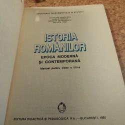 Octavian Cristescu - Istoria romanilor Epoca moderna si contemporana manual pentru clasa a VIII a