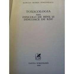 Mircea Horia Simionescu - Toxicologia