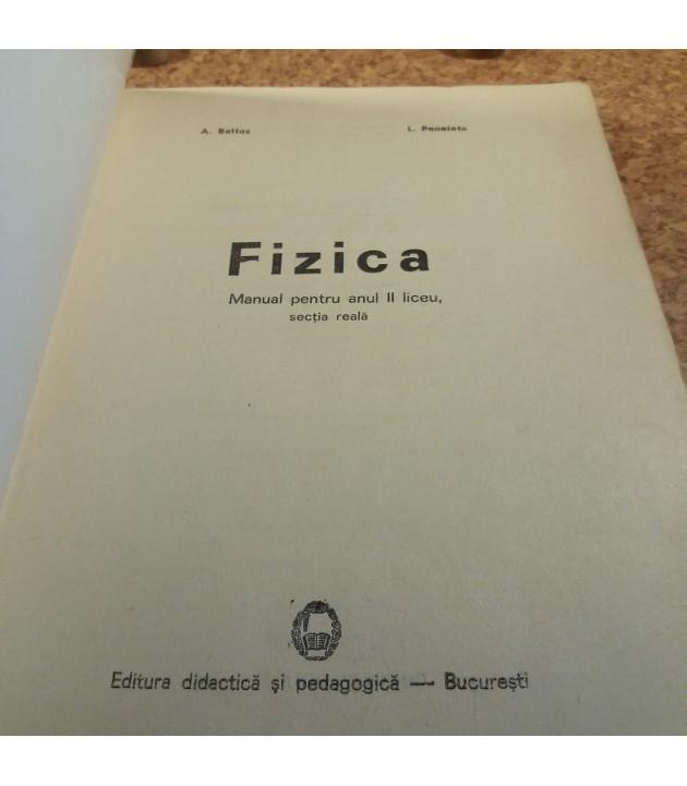 L. Panaiotu - Fizica manual pentru anul II liceu, sectia reala