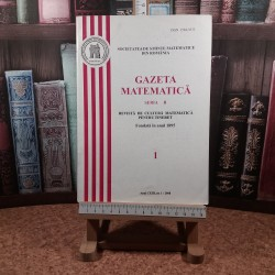 Gazeta matematica Seria B Anul CXIII nr. 1/2008