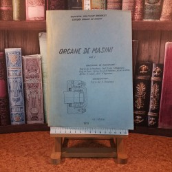 Dan Pavelescu - Organe de masini Vol. I