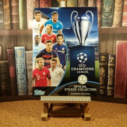 UEFA Champions League Official sticker collection Season 2015/16