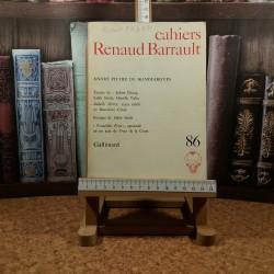 cahiers Renaud Barrault