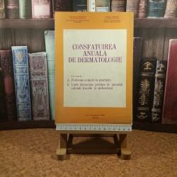 Consfatuirea anuala de dermatologie