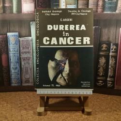 C. Arsenie - Durerea in cancer Vol. XI 1983