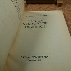 Tudor Constantin - Clinica neuropatiei diabetice