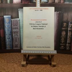 Acta diabetologica romana vol.  21-1995 Rezumatele lucrarilor celui de-al XXI lea Congres National