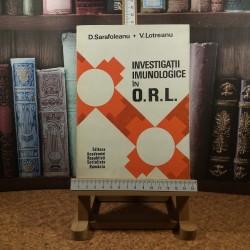 D. Sarafoleanu - Investigatii imunologice in ORL