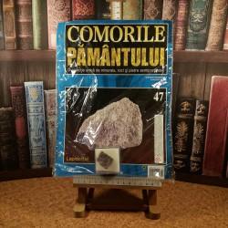 Comorile pamantului Nr. 47 - Lepidolitul