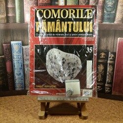 Comorile pamantului Nr. 35 - Jaspul dalmatian