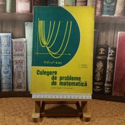 I. Giurgiu - Culegere de probleme de matematica pentru treapta a II a de licee