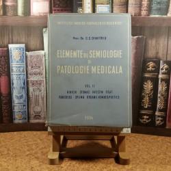 Dr. C. C. Dimitriu - Elemente de semiologie si patologie medicala Vol. II