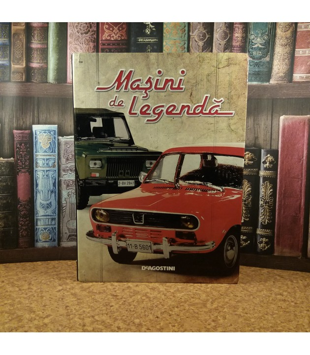 Masini de legenda Nr. 21 - Nr. 40 + Biblioraft (fara esantion)