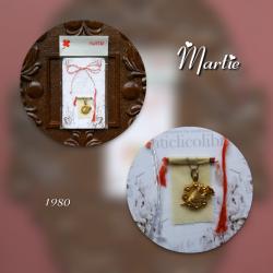 Martisor vintage 1980