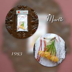 Martisor vintage 1983