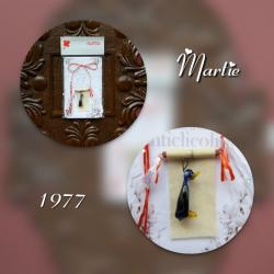 Martisor vintage 1977