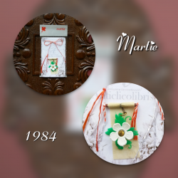 Martisor vintage 1984