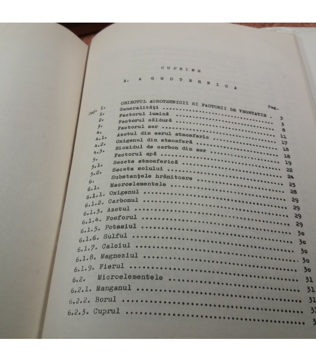 Nicolae Sandulescu - Agrofitotehnie agrotehnica partea a II-a