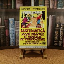 Grigore Gheba - Matematica Jocuri didactice si Probleme de perspicacitate