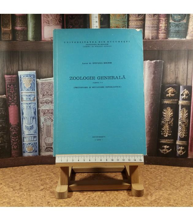 Stefania Boldor - Zoologie generala partea I