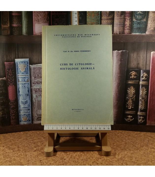 Maria Teodorescu - Curs de Citologie - Histologie animala
