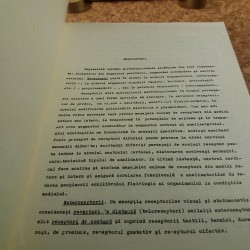 Maria Teodorescu - Histologia si histogeneza analizatorilor