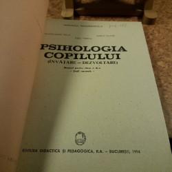 Pantelimon Golu - Psihologia copilului manual pentru clasa a XI a – scoli normale