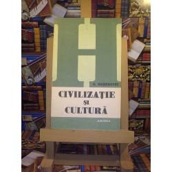 S. Mehedinti - Civilizatie si cultura