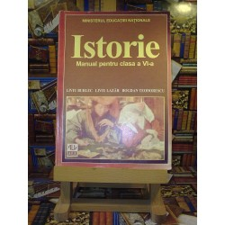 Liviu Burlec - Istorie manual pentru clasa a VI a