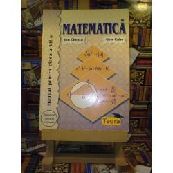 Ion Chesca - Matematica manual pentru clasa a VII a