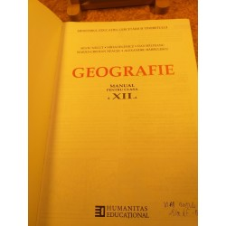 Silviu Negut - Geografie manual pentru clasa a XII a