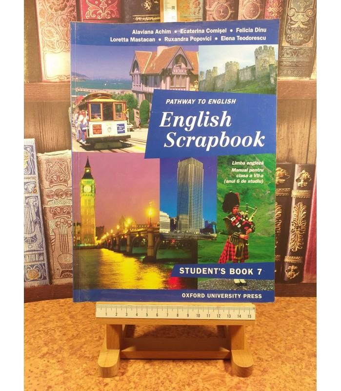Alaviana Achim - Pathway to english English Scrapbook man pt cls a VII a