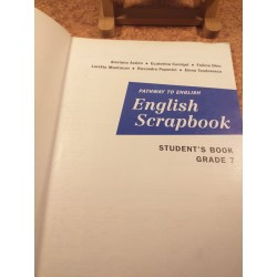 Alaviana Achim - Pathway to english English Scrapbook man pt cls a VII a
