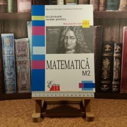 Eugen Radu - Matematica M2 manual pentru clasa a 12 a
