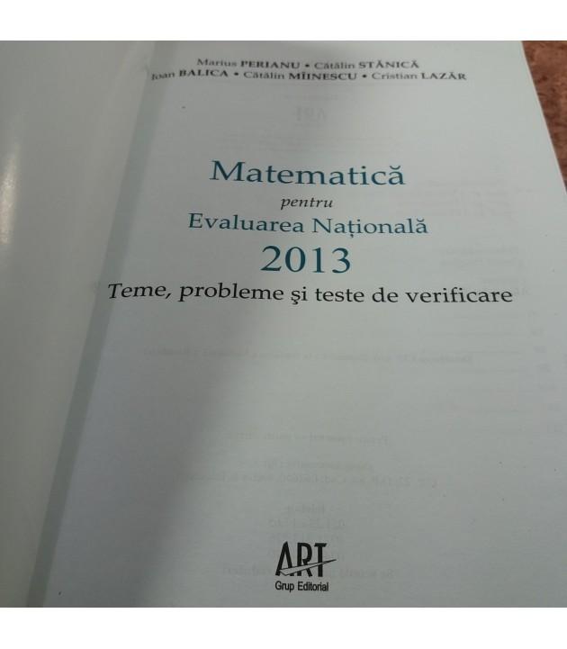 Marius Perianu - Matematica pentru Evaluarea Nationala