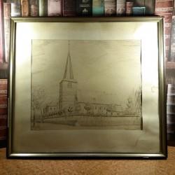 Gavura Clemens Uebachs - kleve kellen - Heimat kirche