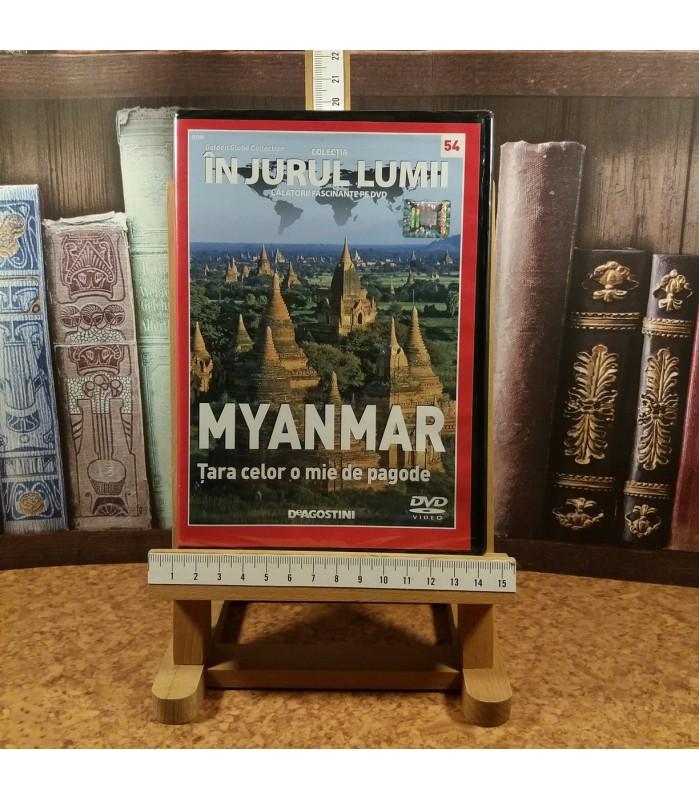 In jurul lumii - Myanmar Nr. 54 Tara celor o mie de pagode