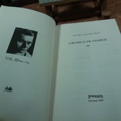 Petru Dumitriu - Cronica de familie Vol. II