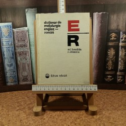 M. L. Breaban - Dictionar de metalurgie Englez - Roman