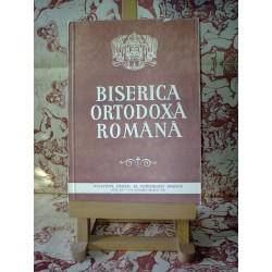 Biserica Ortodoxa Romana Anul CX 1-3 Ianuarie-Martie 1992