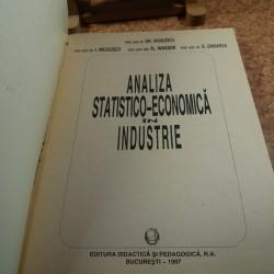 Gh. Vasilescu - Analiza statistico-economica in industrie