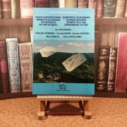 Ion Zavoianu - Relatii cantitative intre productia de aluviuni in suspensie si fact de mediu