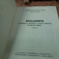Regulamentul de organizare si desfasurare a activitatii fotbal din Mun Buc