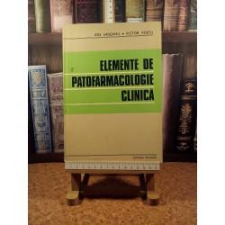 Ion Urseanu, V. Voicu - elemente de Patofarmacologie clinica